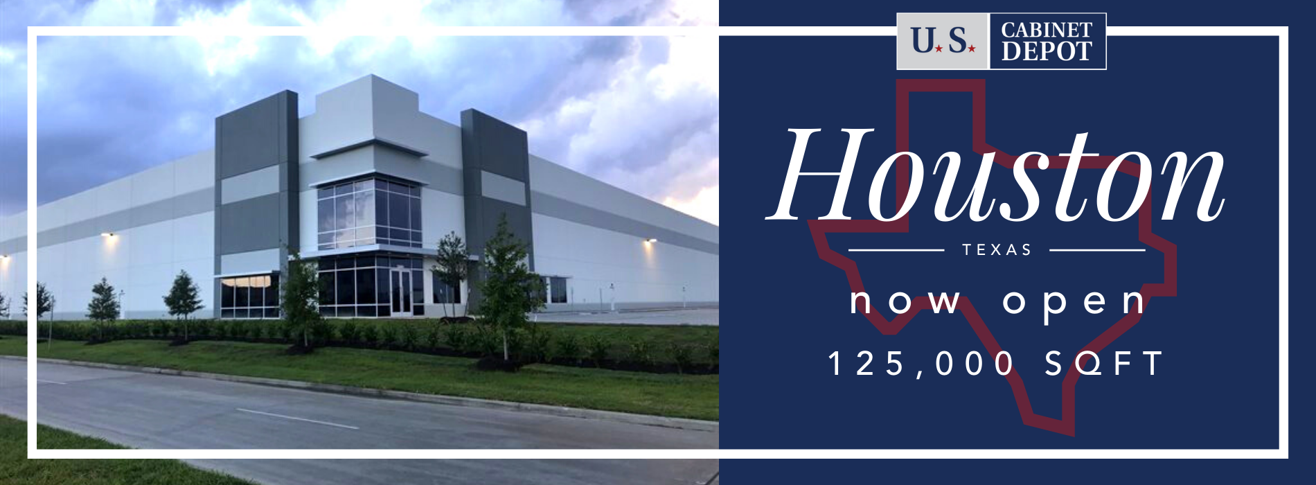 New Location For Warehouse Pick Up at Houston
