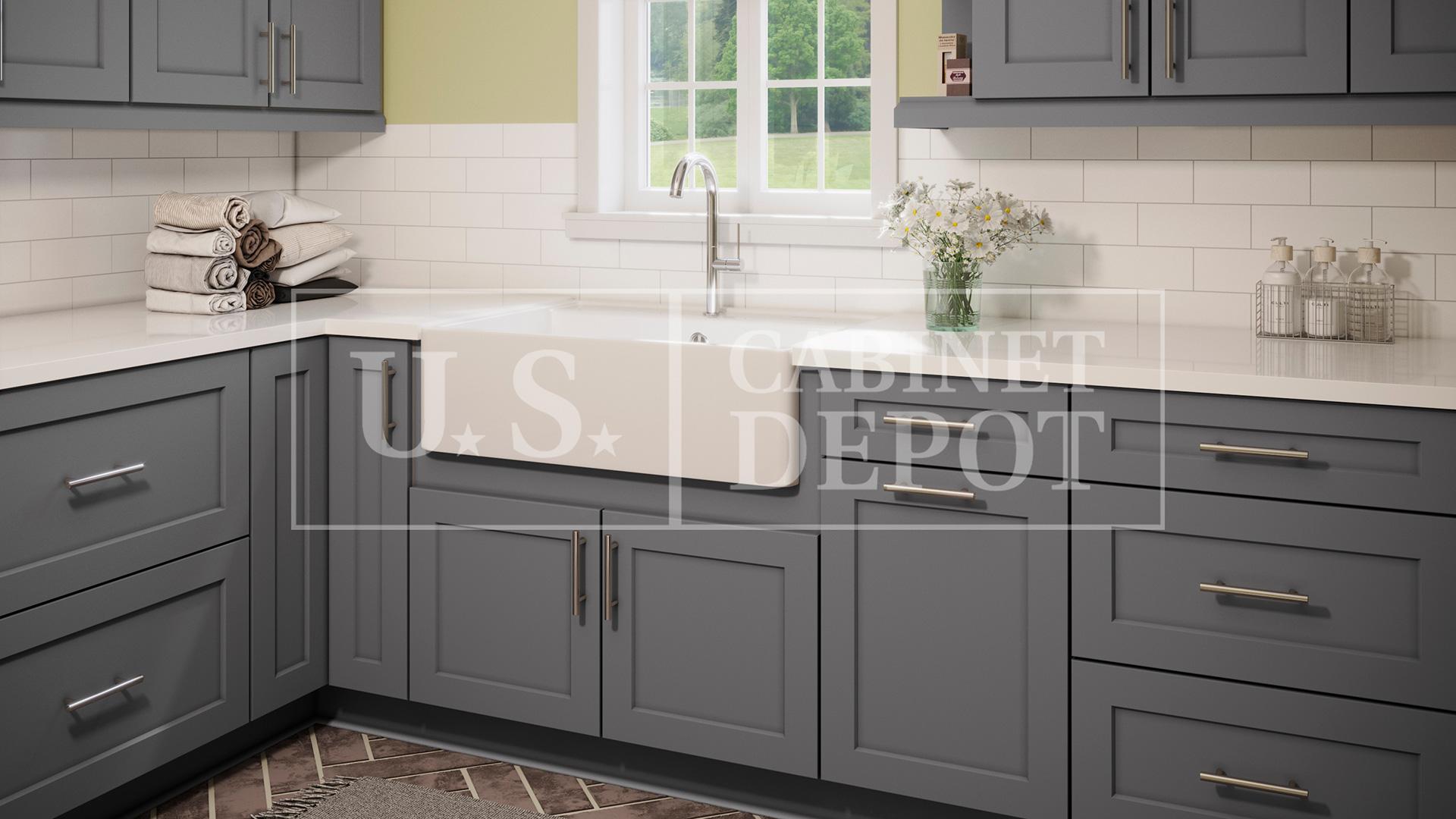 Shaker Grey Us Cabinet Depot