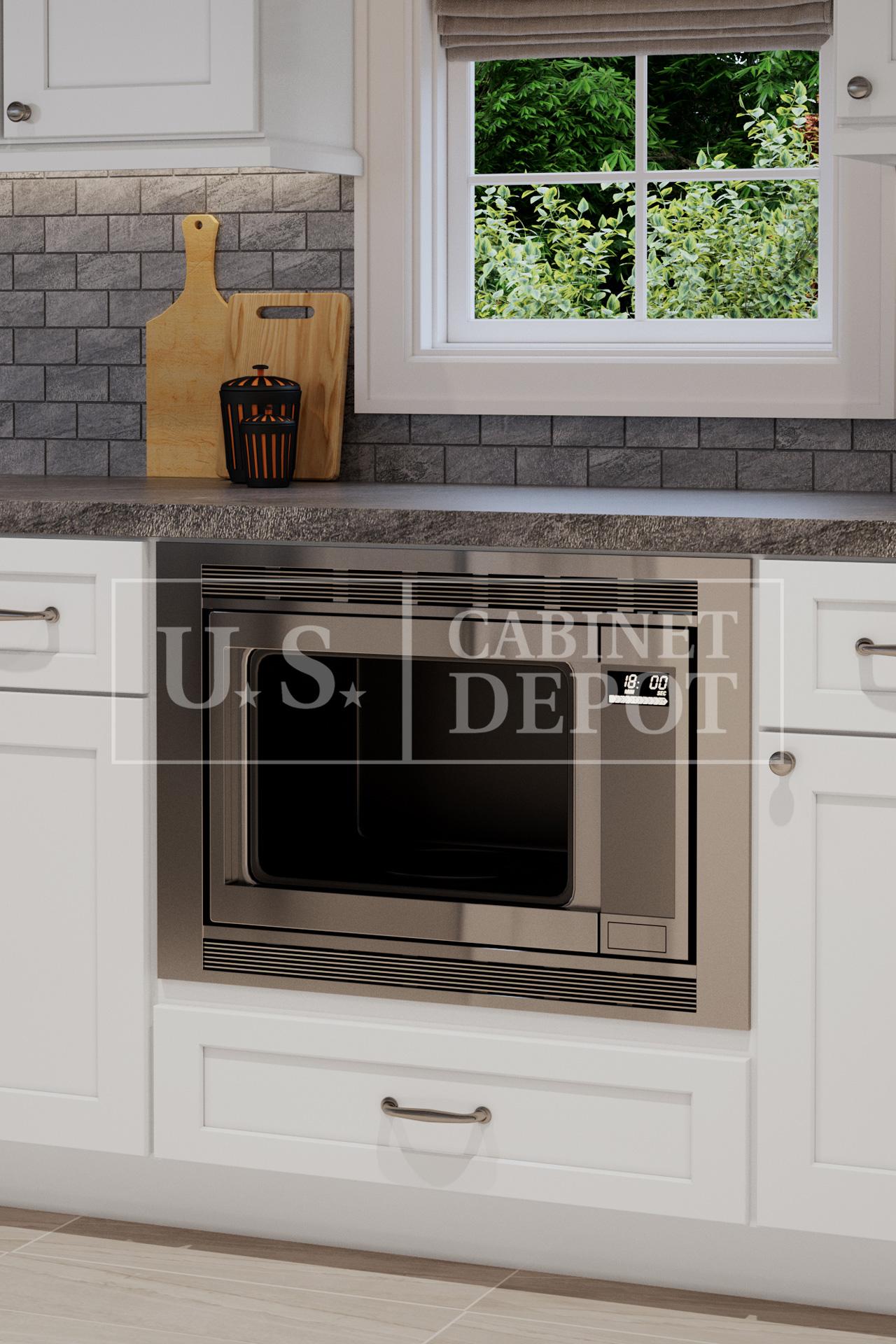 Shaker White Us Cabinet Depot