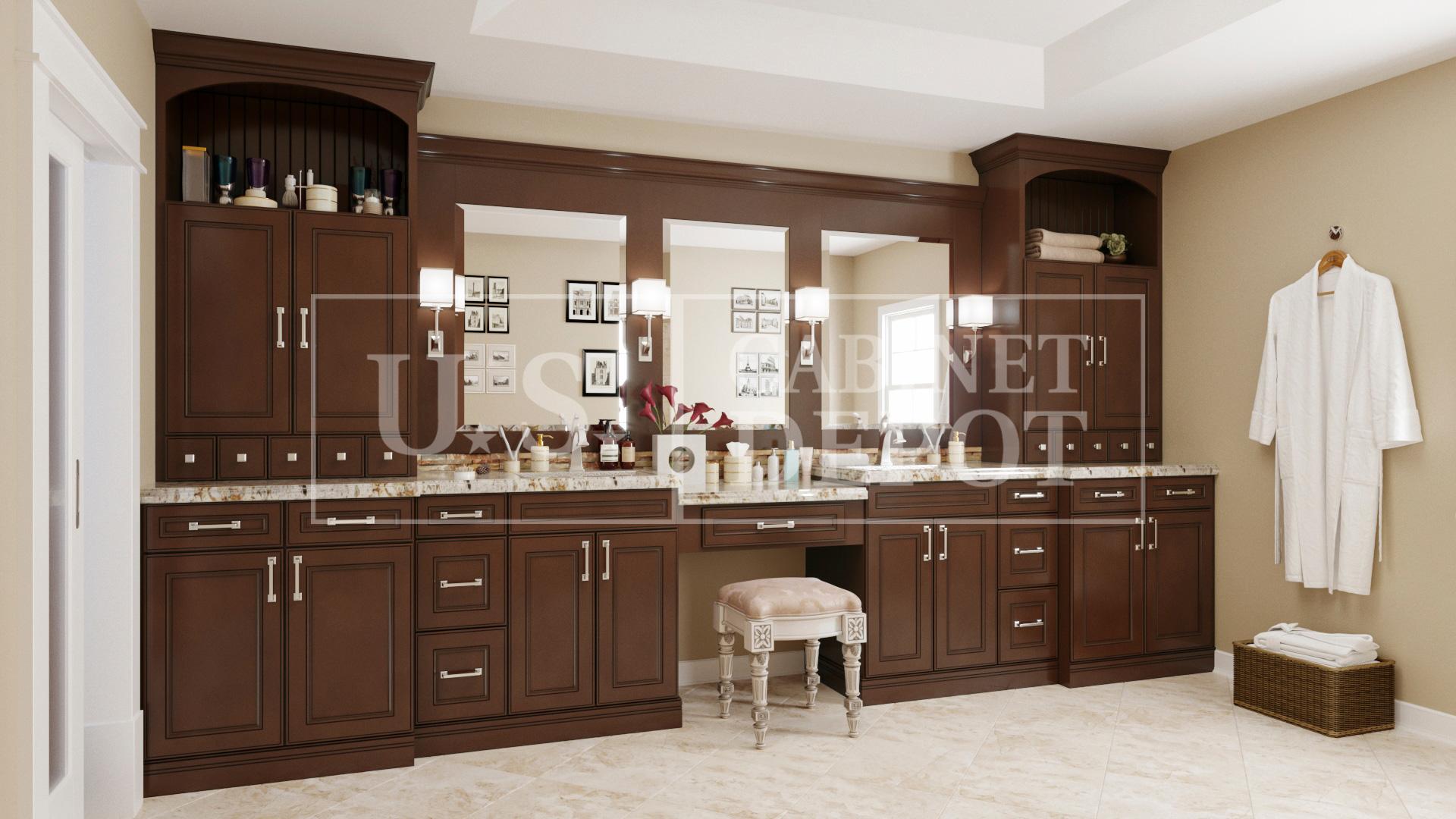 York Chocolate Us Cabinet Depot
