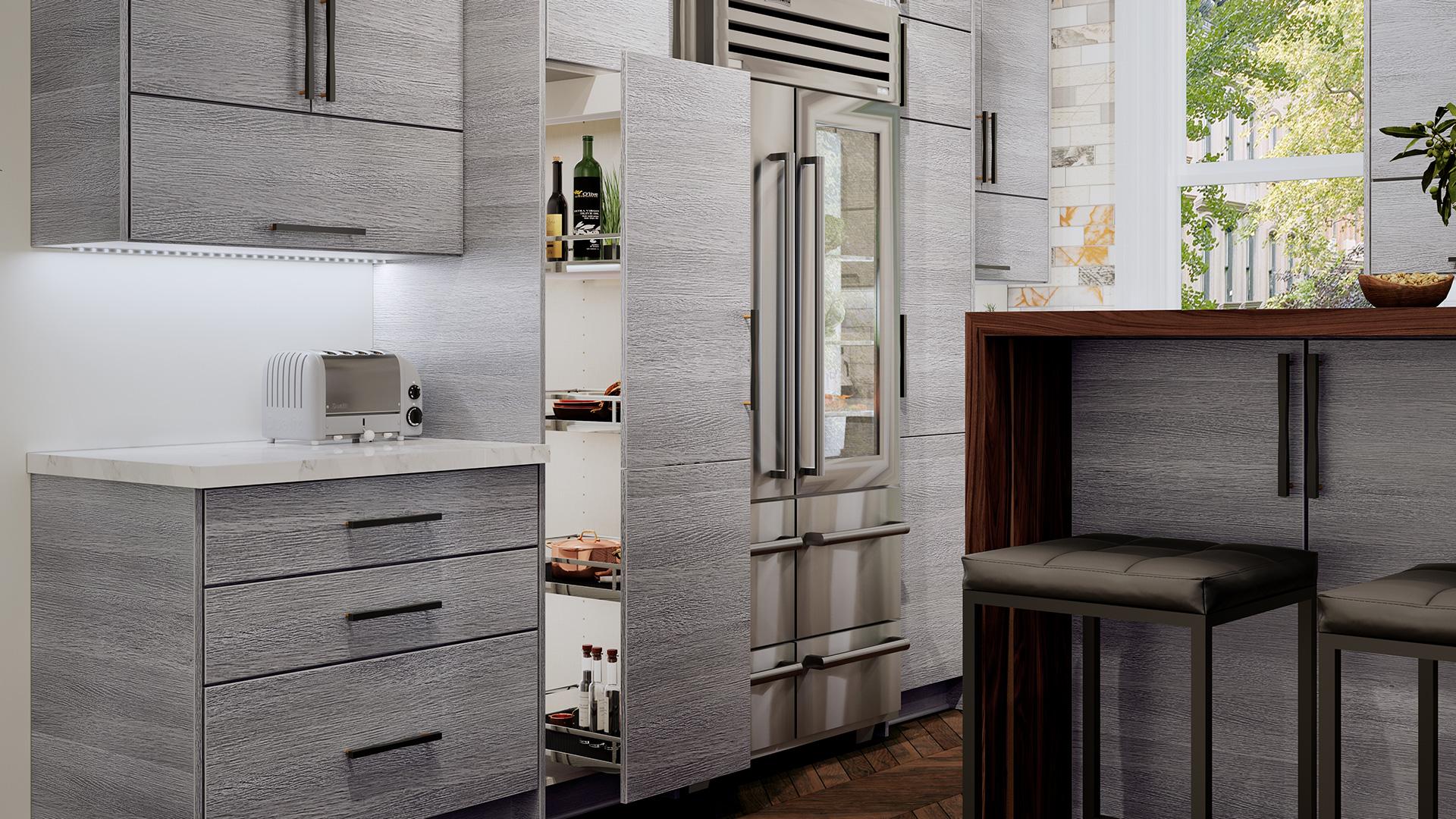 kitchen cabinet depot shaker cabinets torino grey wave kitchen closeup us cabinet depot